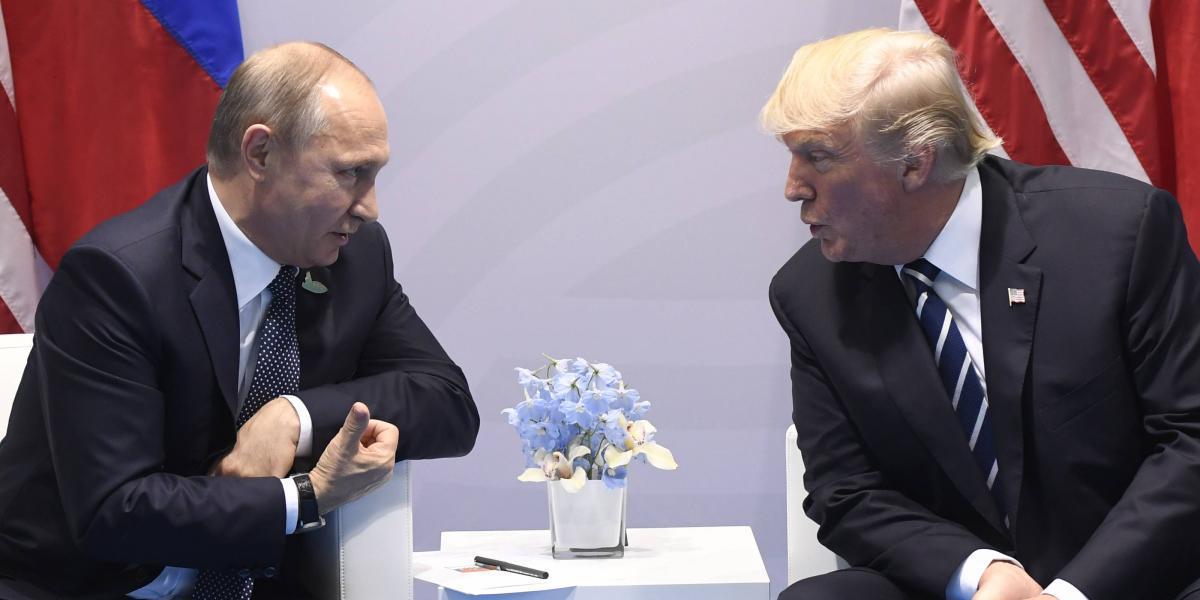 Trump asegura que Putin hubiera preferido a Hillary Clinton como presidenta de EEUU