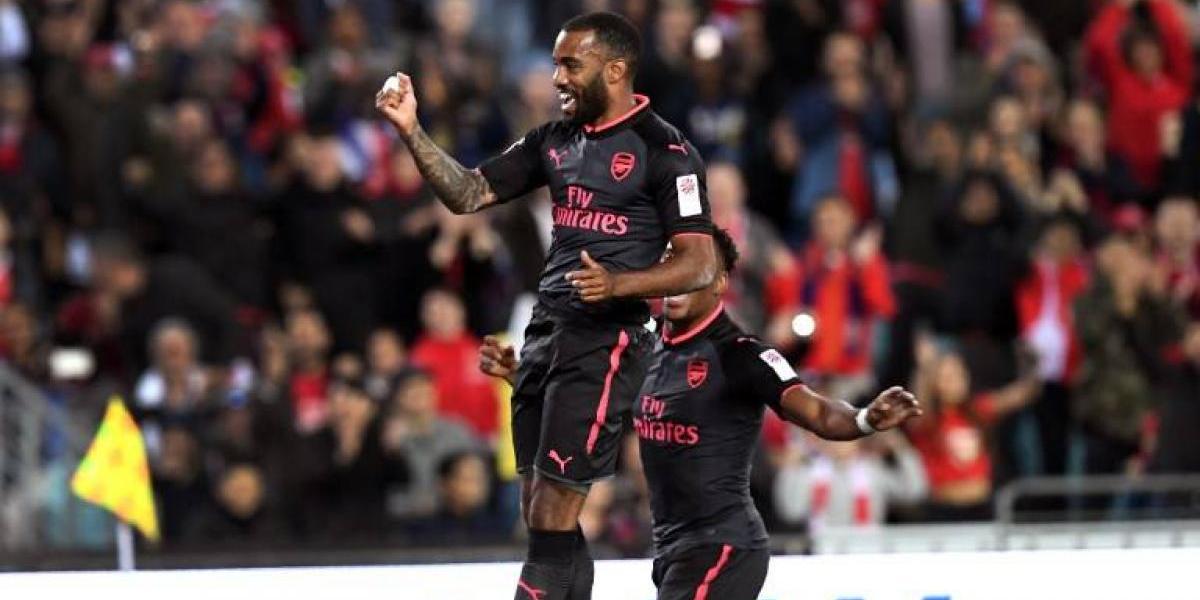 Ojo Alexis: Arsenal gana su primer partido de pretemporada con gol de su nueva estrella