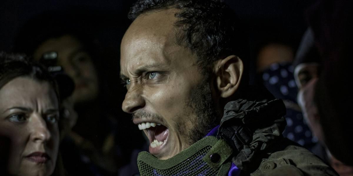 """Reaparece """"policía rebelde"""" de Venezuela: """"Nos mantenemos adiestrando a los muchachos en la resistencia"""""""
