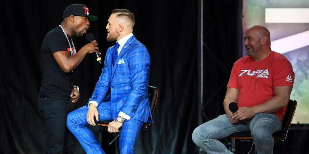 """Mayweather vs. McGregor: la """"guerra"""" sube de tono con fuertes insultos y desafíos"""