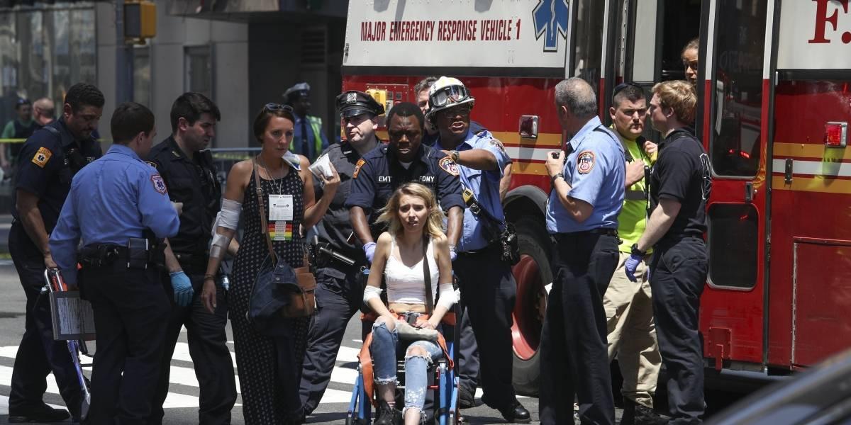 Acusado de accidente en Times Square se declara inocente