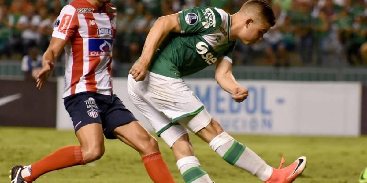 Empate entre Cali y Junior con 10 en la Copa Sudamericana