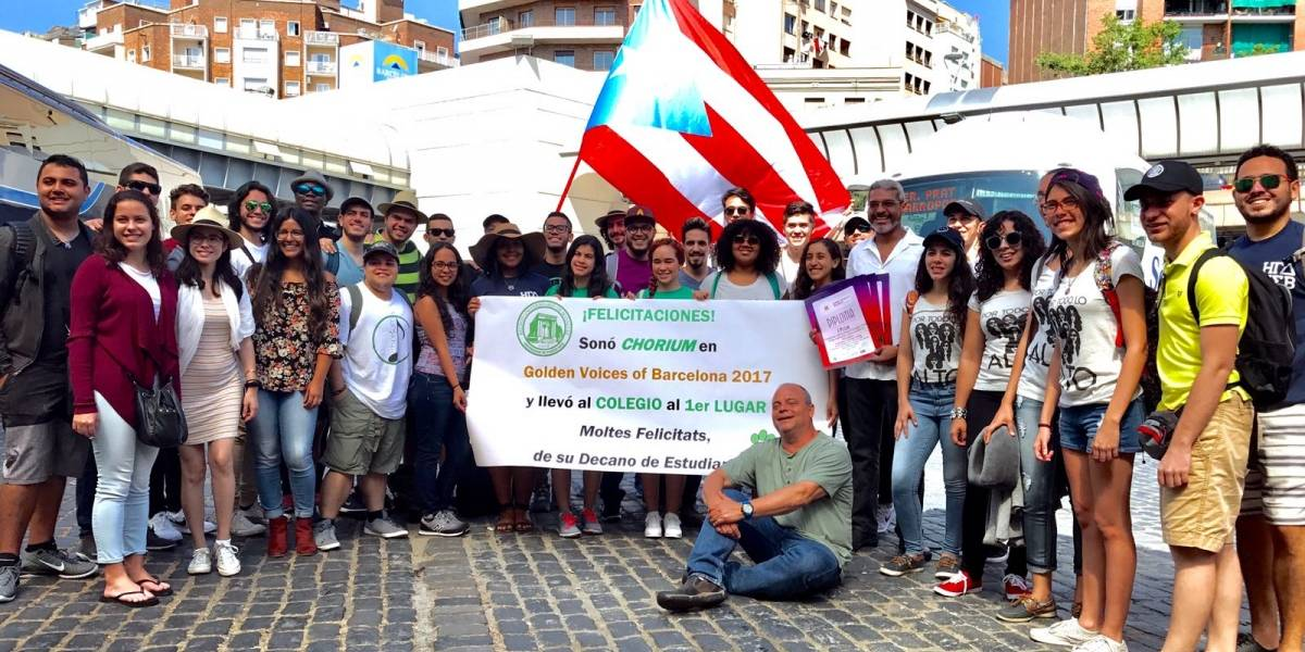 Coro de cámara del RUM triunfa en España representando a Puerto Rico