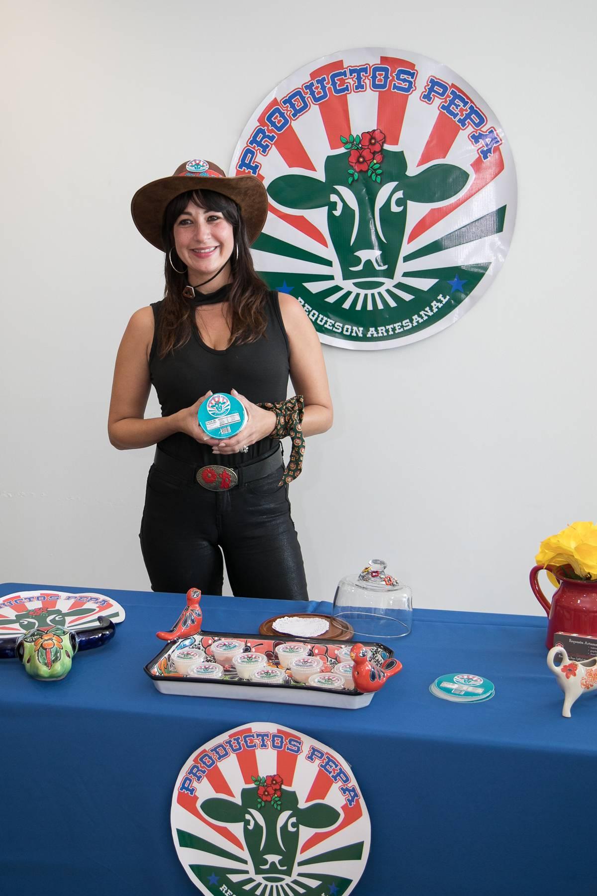 Marilyn González, de la empresa de lácteos Productos Pepa
