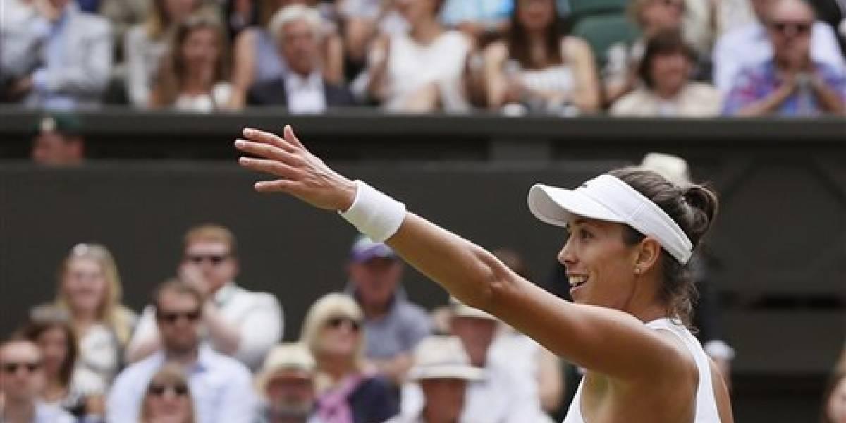 Garbiñe Muguruza avanza a la final de Wimbledon