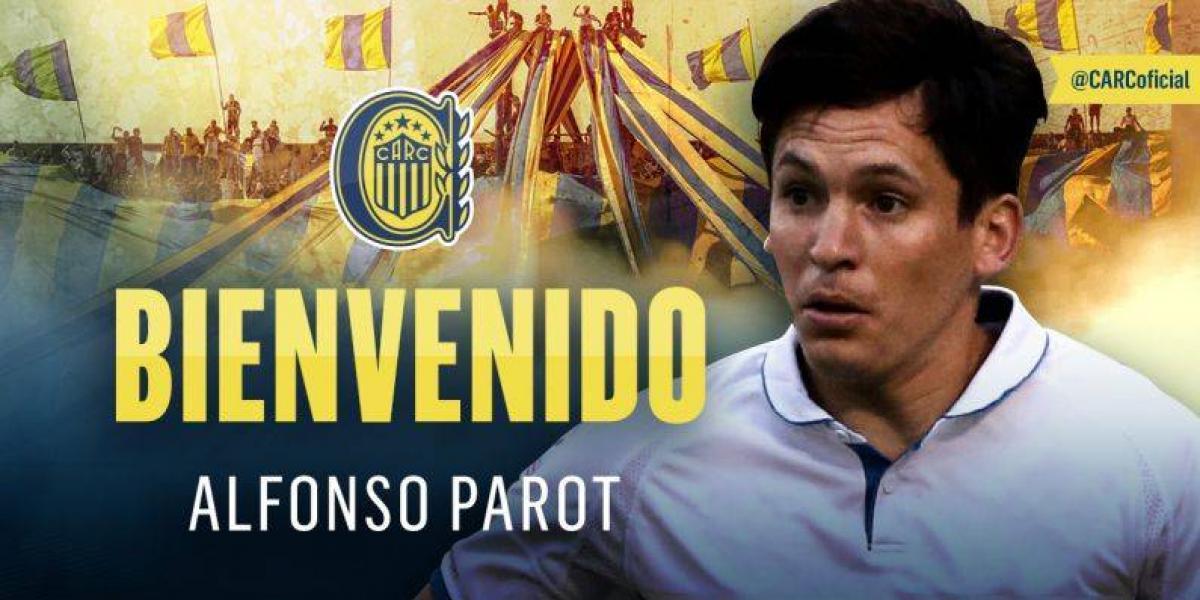 Poncho canalla: Alfonso Parot fue oficializado como refuerzo de Rosario Central