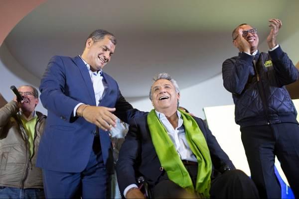 Correa vuelve a hablar de Lenín Moreno