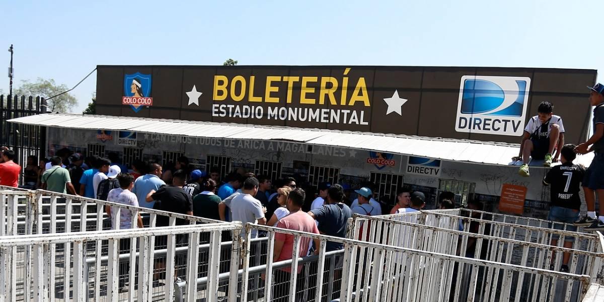 El fracaso de la ticketera de Blanco y Negro que afectará a los hinchas de Colo Colo