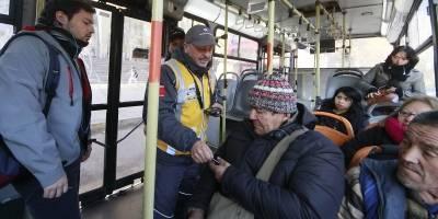 Revisa los recorridos con mayor evasión del Transantiago