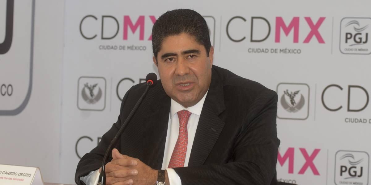 Edmundo Garrido, nuevo procurador de Justicia en la CDMX