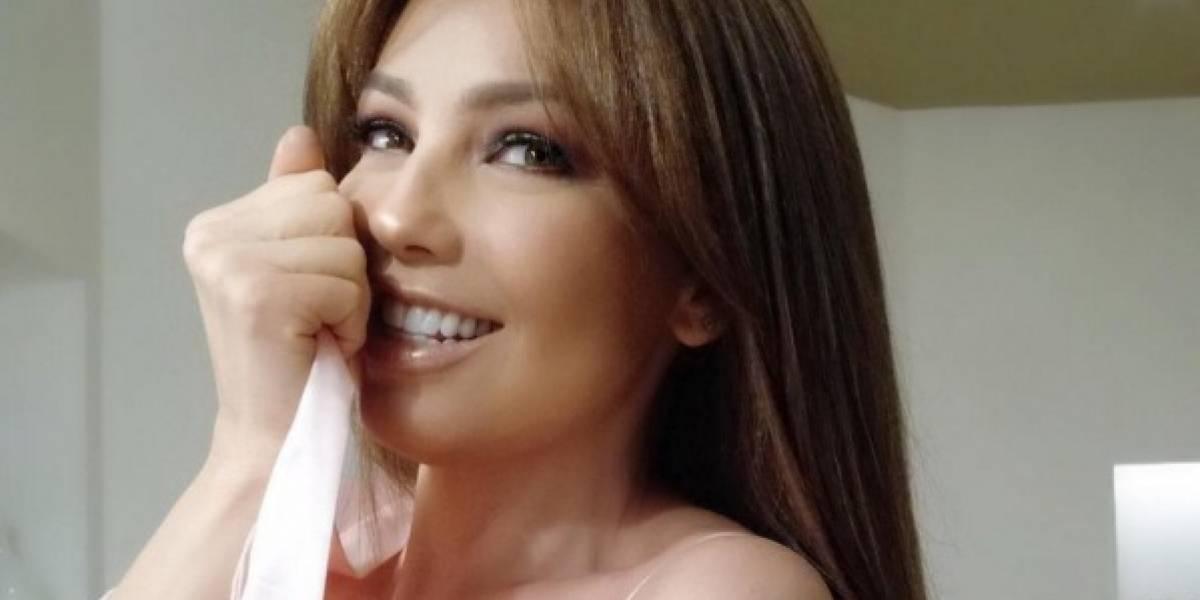 Esta es la foto de Thalía que le ha ocasionado fuertes críticas en redes sociales