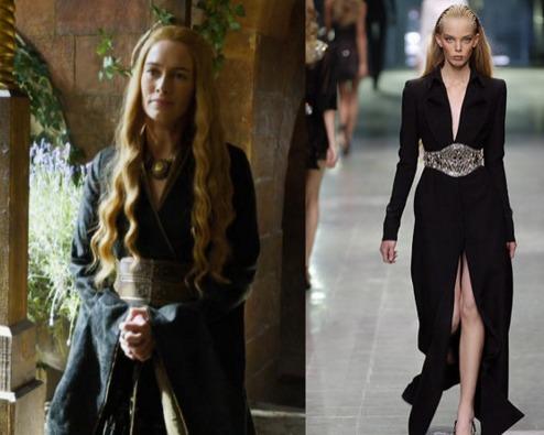Cersei Lannister/Alexander McQueen