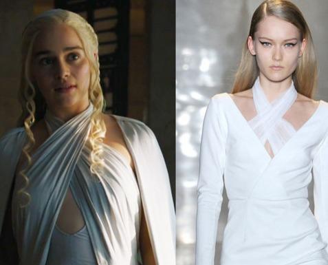 Daenerys Targaryen /Cushnie et Ochs