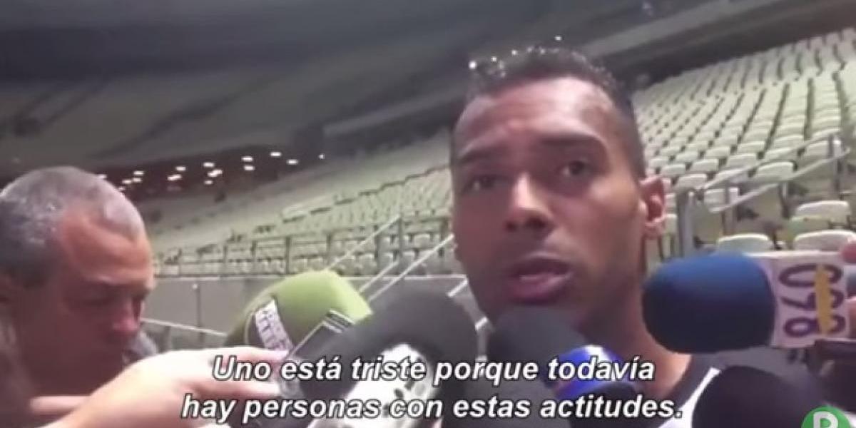 VIDEO: Futbolista denuncia a compañero por racismo