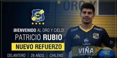 Patricio Rubio vuelve de su criticado paso en México y es el nuevo refuerzo de Everton