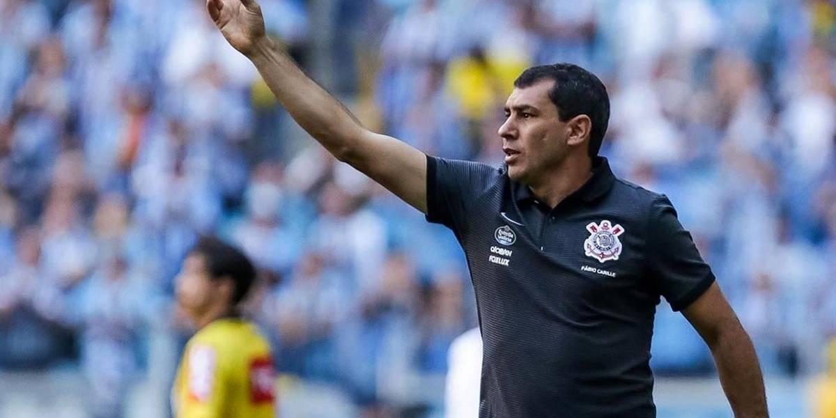 Fábio Carille deixa o Corinthians