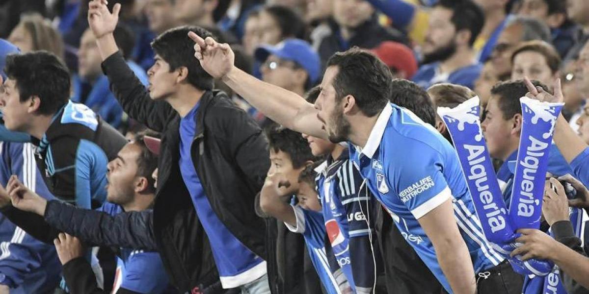 Aficionados del Nacional matan a seguidor de Millonarios
