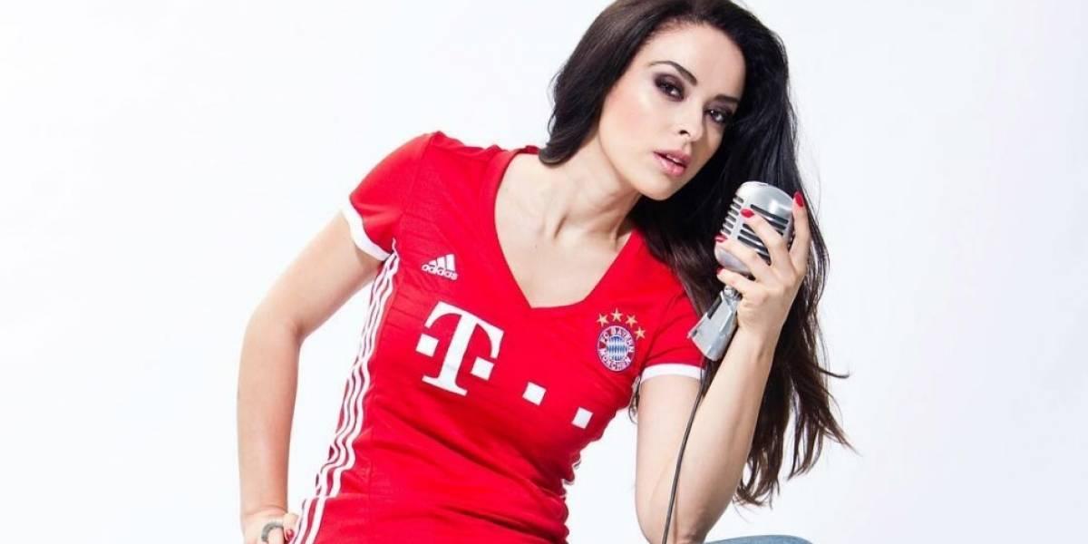 FOTOS. La bella colombiana que será compañera de James en el Bayern