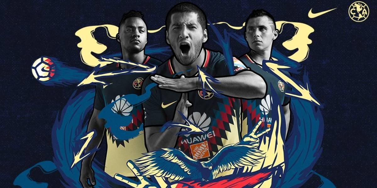 ¡Prehispánico! América revela su nuevo uniforme para el Apertura 2017