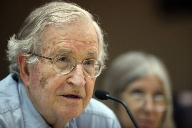 Noam Chomsky, filósofo estadounidense