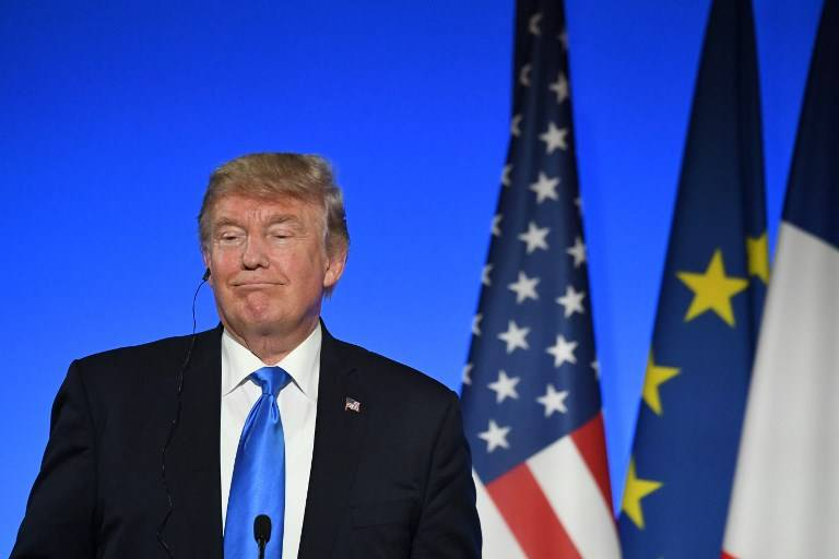 Donald Trump en Francia