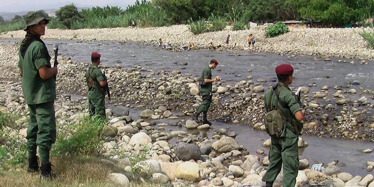 Militares venezolanos habrían entrado a Colombia a disparar