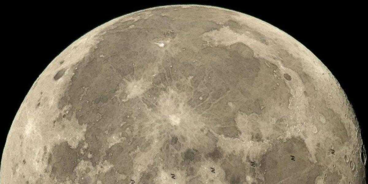 """El origen de la """"luna rectangular"""" que desconcierta a los científicos"""