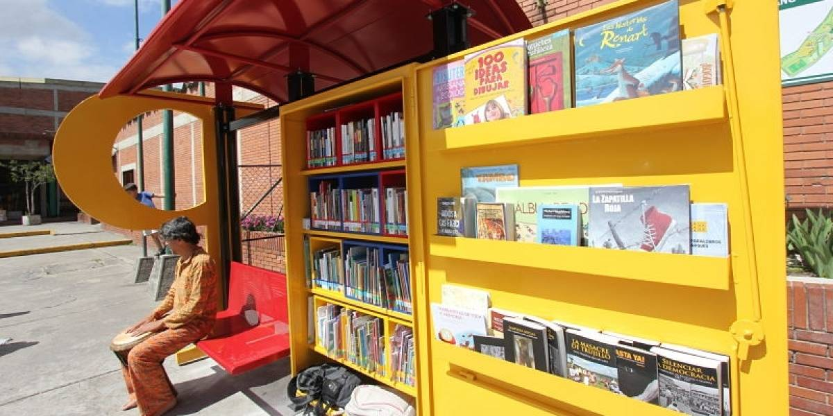 Nuevo punto de lectura en el Parque de los Novios