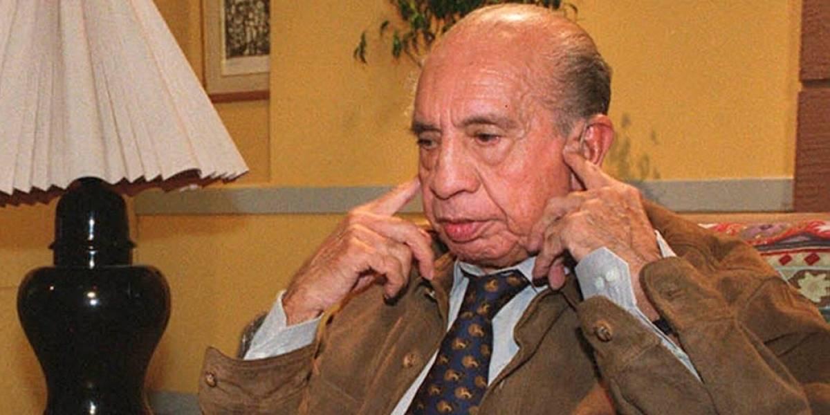 Héctor Lechuga fallece a los 90 años en su casa de la Ciudad de México