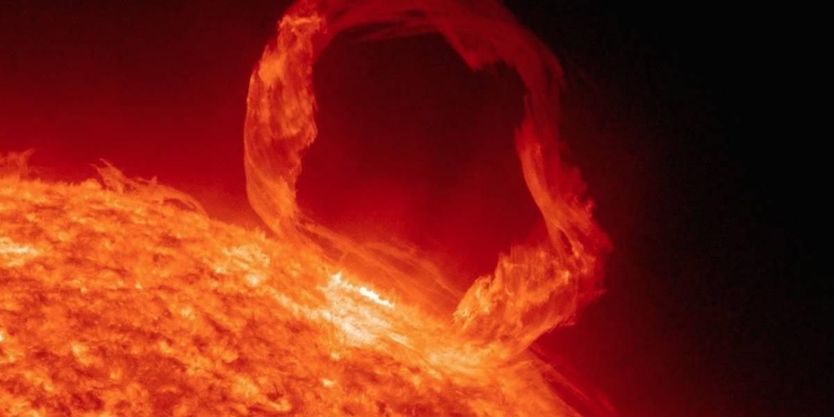 La NASA descubre una mancha solar más grande que la Tierra