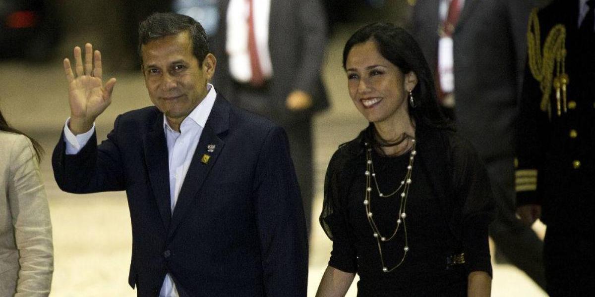 Dan 18 meses de prisión preventiva contra Ollanta Humala y su esposa