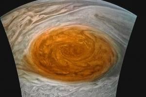 Las imágenes de la Gran Mancha Roja de Júpiter