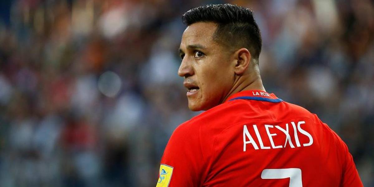 Alexis Sánchez volvió a Chile sin luces de definición sobre su futuro en el Arsenal