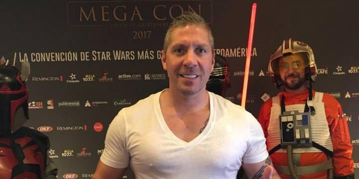 Mega Con de Star Wars: Ray Park ya está en Guatemala