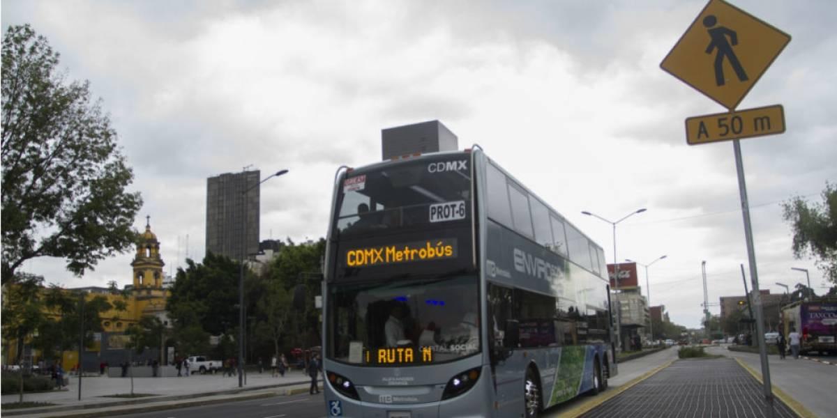 Aún sin estudios sobre tarifa de Metrobús Reforma