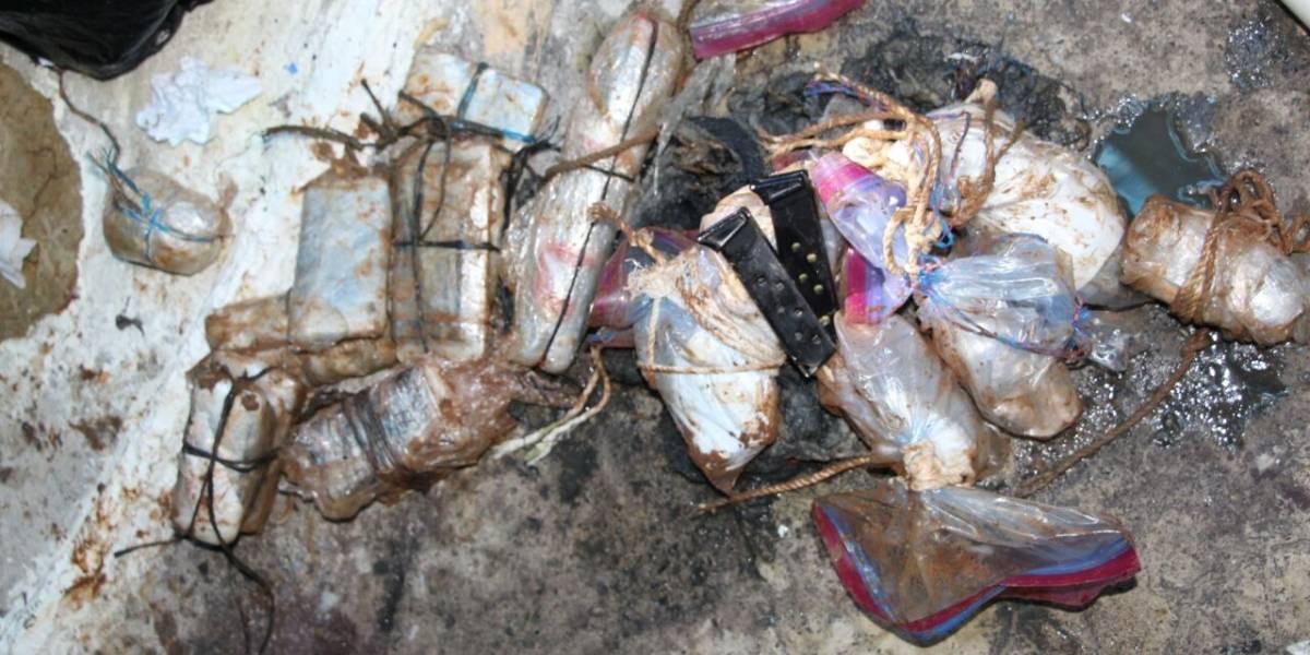 Reos de El Infiernito escondían explosivos y armas de fuego en alcantarillas