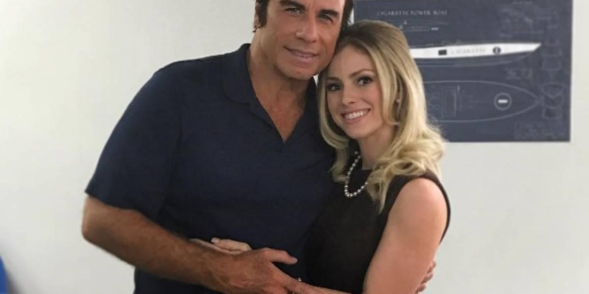 Natalia Rivera trabaja con John Travolta