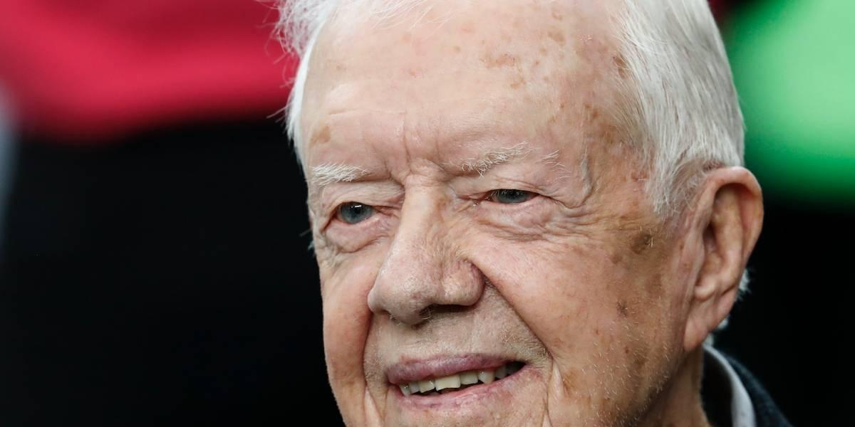Hospitalizan a expresidente de EEUU Jimmy Carter