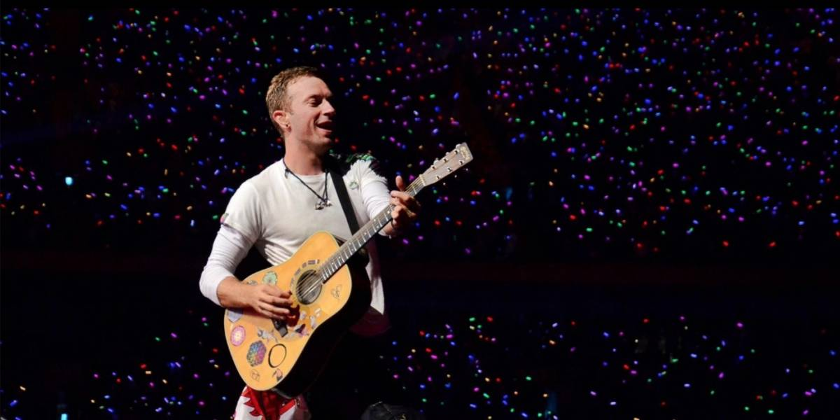 Coldplay, la banda de rock más popular en México