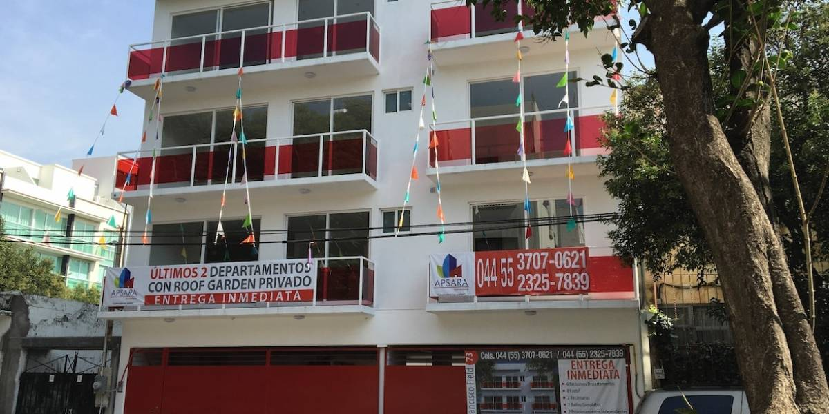 Hasta 73 mil pesos por metro cuadrado, costo de vivienda en CDMX