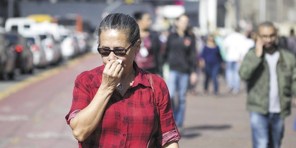 Clima seco em SP é o pior desde 2008.... e vai continuar
