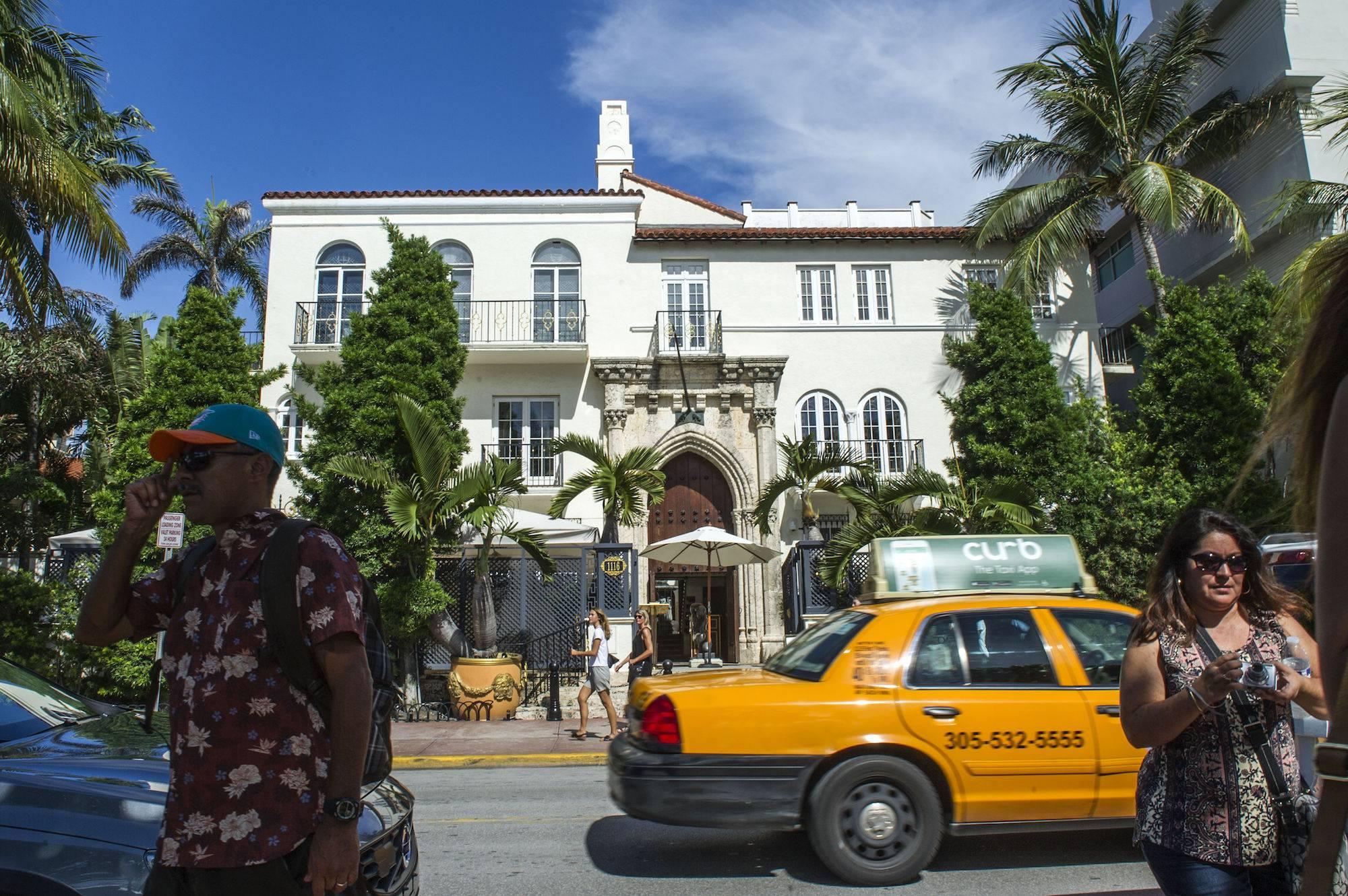 La mansión de Gianni Versace en Miami Beach, hoy convertida en hotel. / Foto: EFE