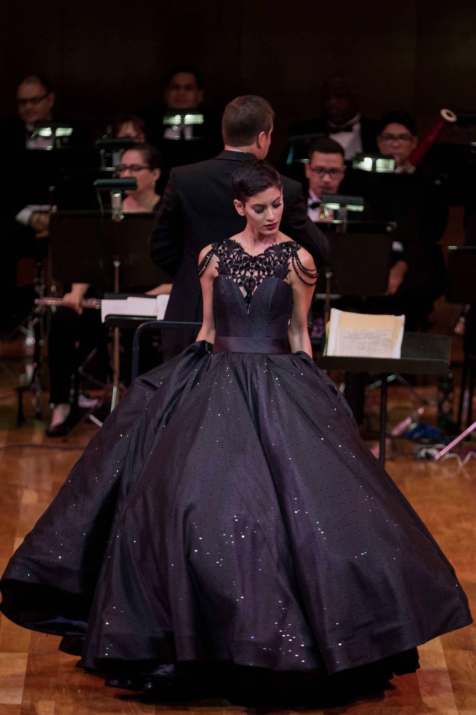 Pieza de la colección La vie en rose... Lulu & lulu, del diseñador venezolano Douglas Tapia. / Foto: suministrada
