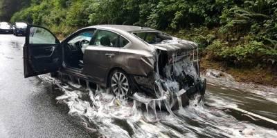 VIDEO. Accidente en Oregon provocó shock y asco en automovilistas