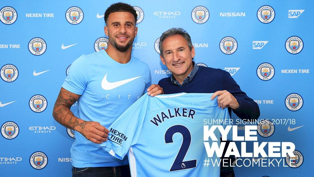 Walker será el dueño de la banda derecha del City / Web Manchester City