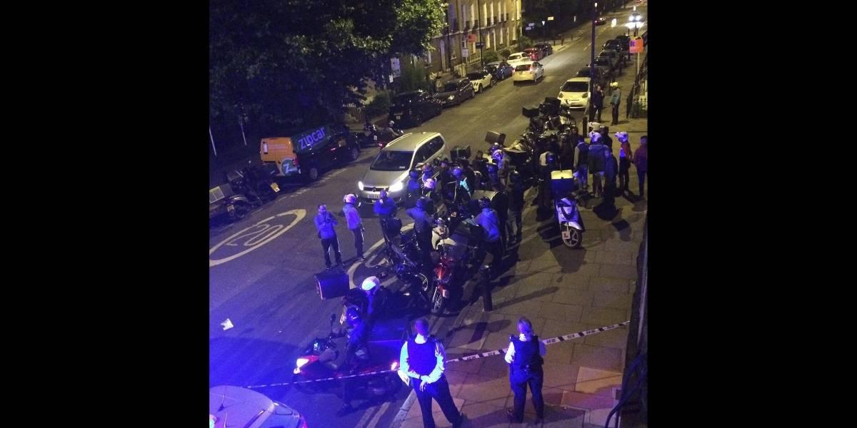 Hombres en moto realizan varios ataques con ácido en Londres