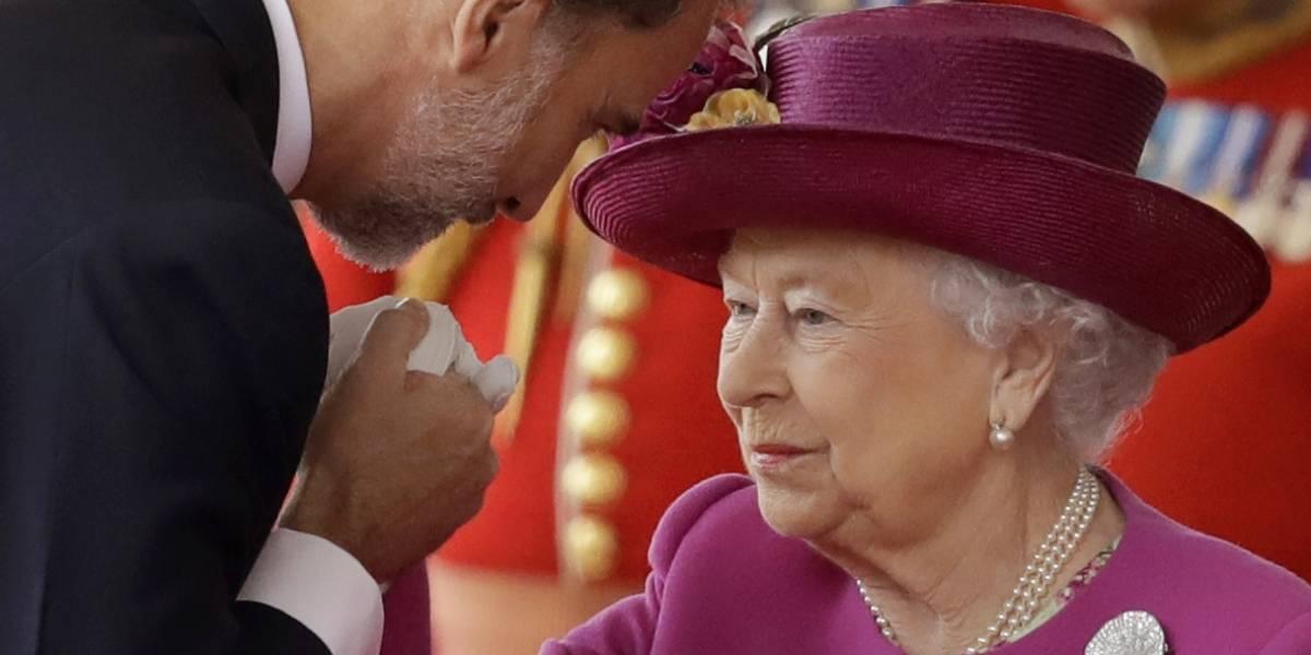 Reyes de España se reúnen con la realeza británica