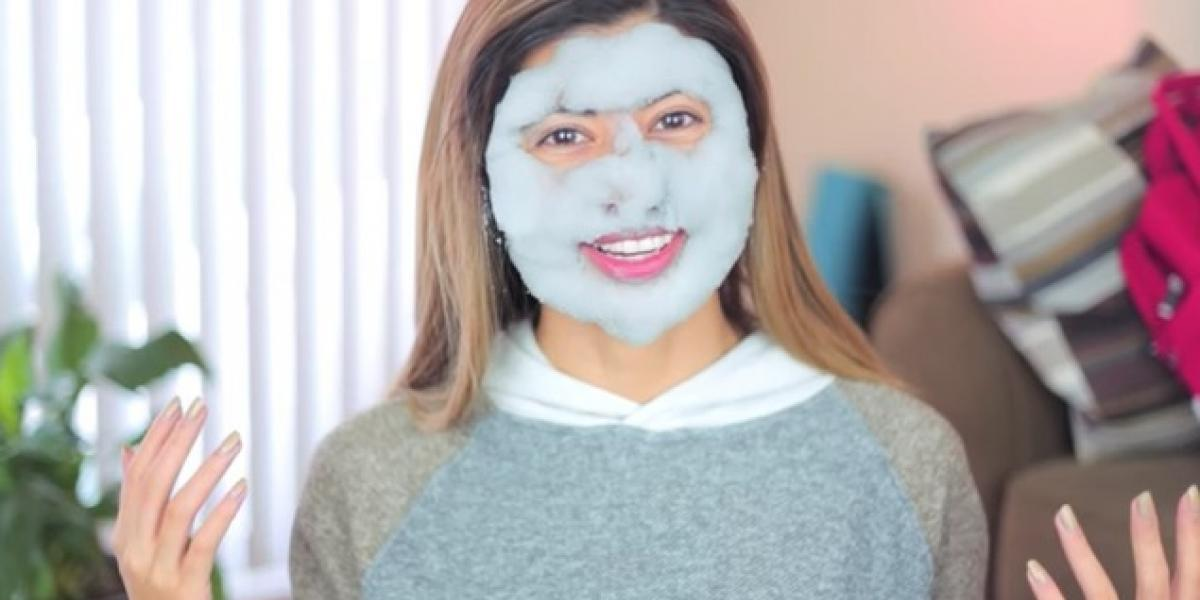 5 razones por las que deberías usar una bubble mask