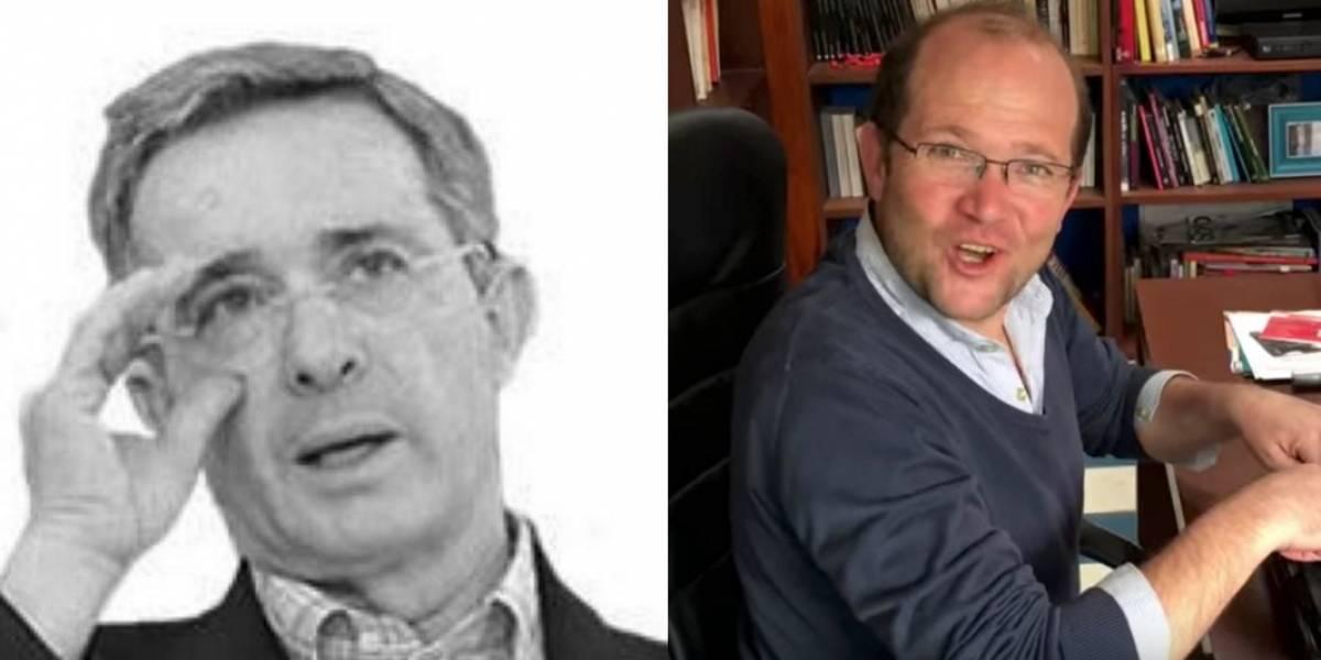 "Álvaro Uribe acusó a Daniel Samper Ospina de ""violador"""