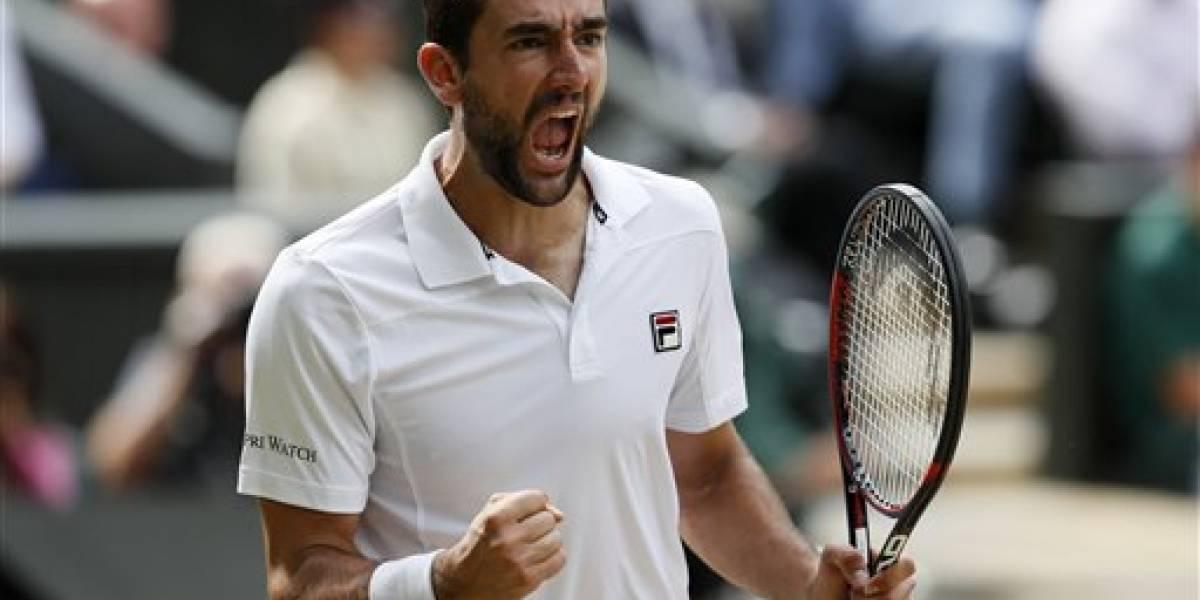 Marin Cilic pasa a la final de Wimbledon